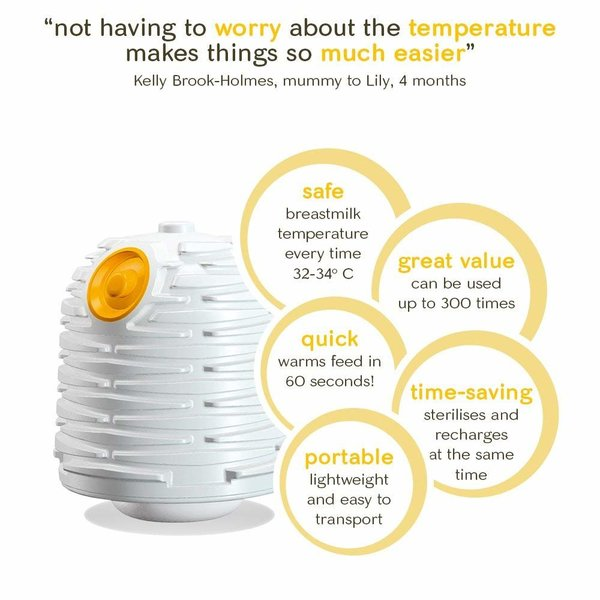View larger image of Yoomi Feeding System With Double Warmer