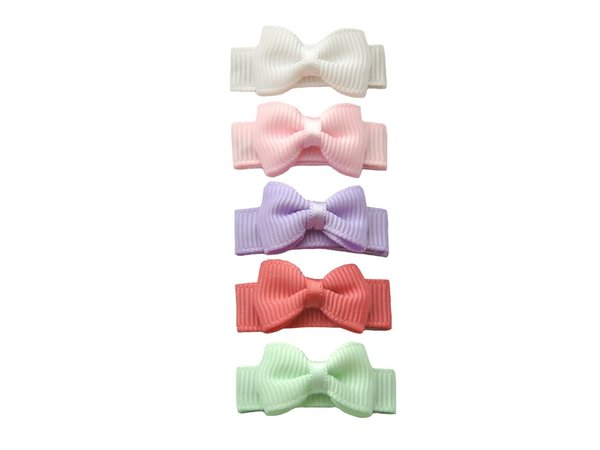 View larger image of Small Snap Macaroon Hair Bow Collection