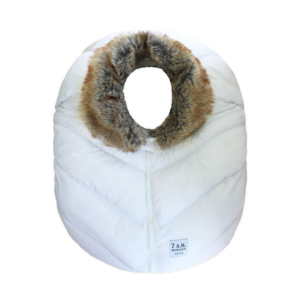 View larger image of Cocoon - White Faux Fur Collar