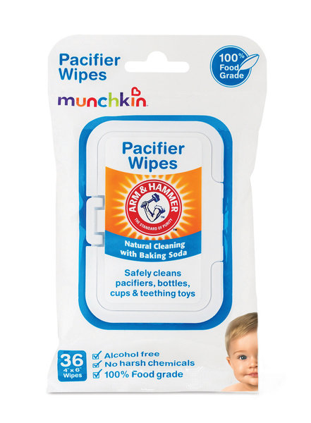 View larger image of Arm & Hammer Pacifier Wipes 36 pk