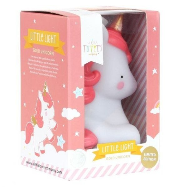 View larger image of Little Light Unicorn Gold
