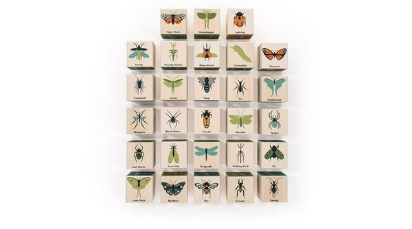 View larger image of Bugs ABC Block