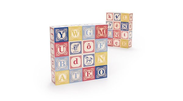 View larger image of French ABC Blocks