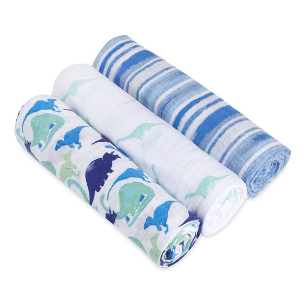View larger image of White Label Swaddles - 3 Pk