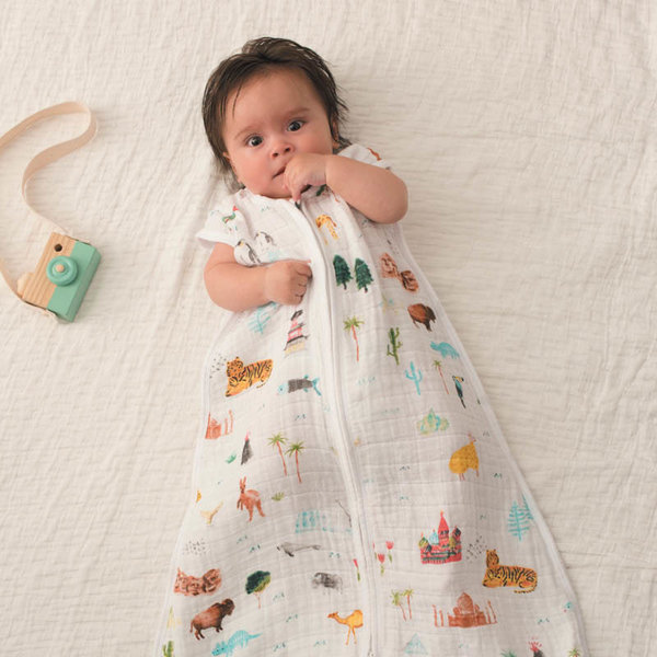 View larger image of Cotton Muslin Light Sleeping Bag - 1.0T