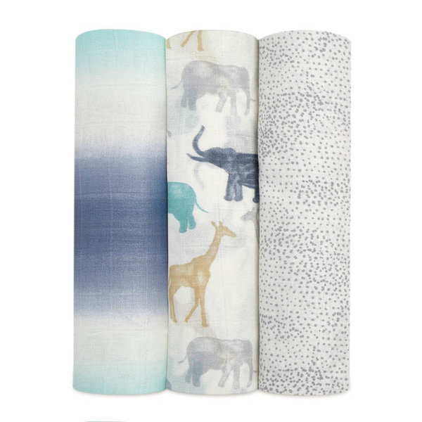 View larger image of Silky Soft Swaddles - 3 pack