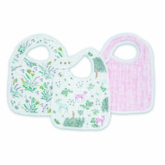 Snap Drool Bibs - 3 Pack