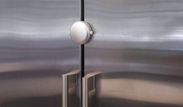 View larger image of Adhesive Fridge Lock - Chrome