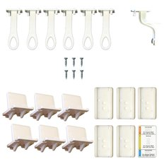 Adhesive Lower Drawer Latch - 6 Pack