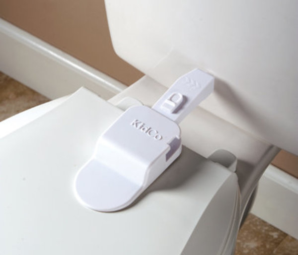 View larger image of Adhesive Toilet Lock