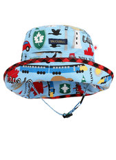 Adjustable Sun Hat - 0-2 Years