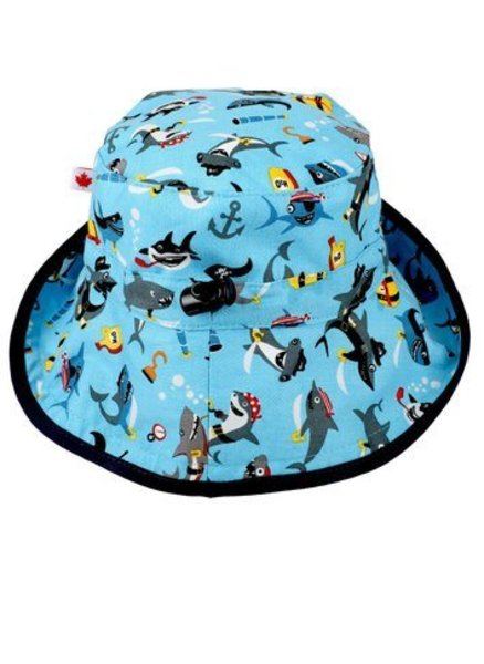 View larger image of Adjustable Sun Hat - 2-8 Years