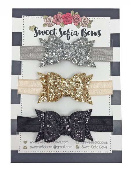 View larger image of Adjustable Chunky Bow Set