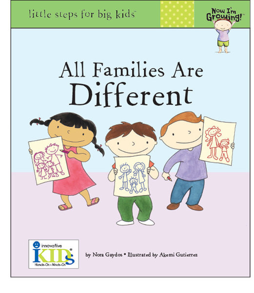 View larger image of All Families Are Different Book