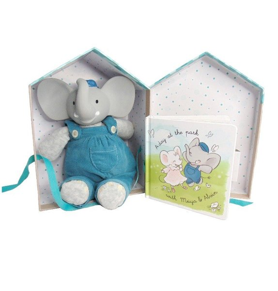 View larger image of Alvin the Elephant Deluxe Gift Set