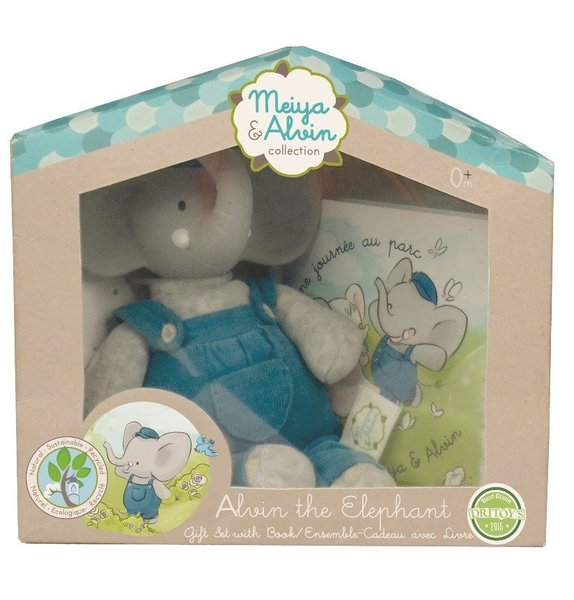 View larger image of Mini Alvin the Elephant Gift Set