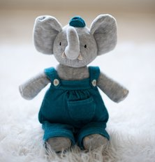 Alvin Elephant Mini Plush Toy