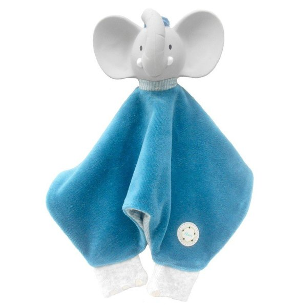 View larger image of Alvin the Elephant Puppet Snuggly