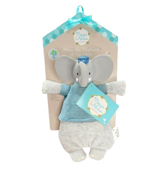View larger image of Alvin the Elephant Soft Toy