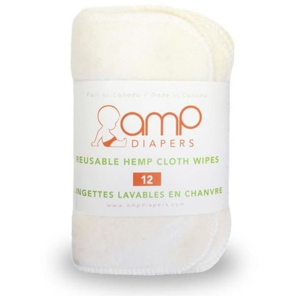 View larger image of Hemp Wipes -12 pack