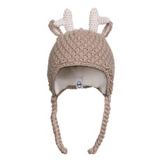 Animal Infant Hat - Taupe