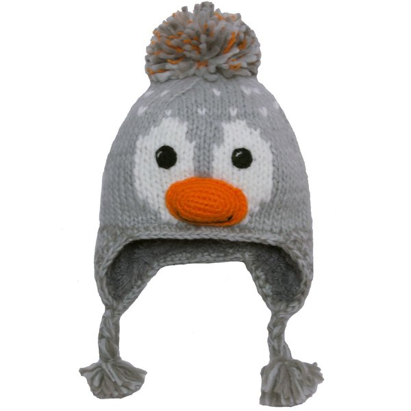 View larger image of Animal Knit Hat-L-Orange
