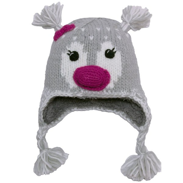 View larger image of Animal Knit Hat-M-Pink