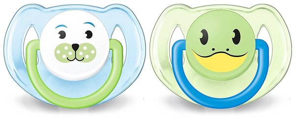 View larger image of Animal Pacifier 6-18 mths