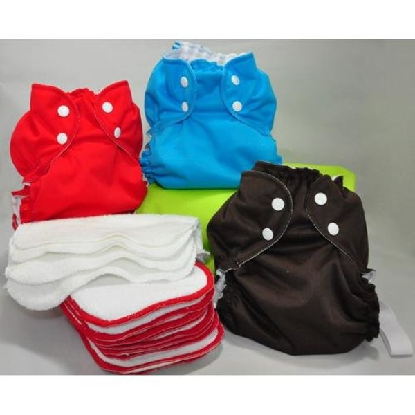 View larger image of Cloth Diaper MicroStarter Kit - Size 1