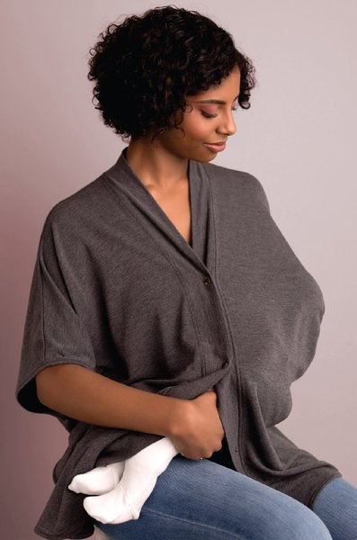 View larger image of Athleisure Wrap Nursing Cover
