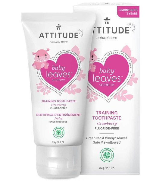View larger image of Fluoride Free Training Toothpaste - Strawberry