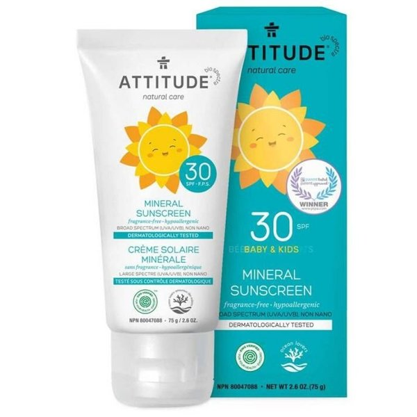 View larger image of Kids Mineral Sunscreen SPF 30 - Fragrance Free