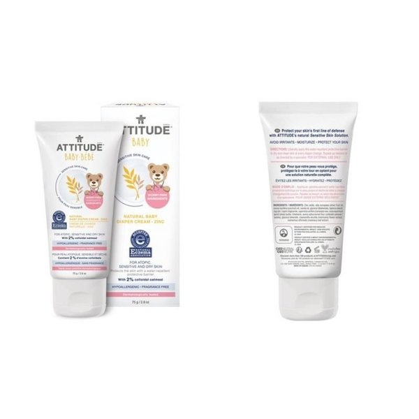 View larger image of Natural Zinc Baby Diaper Cream