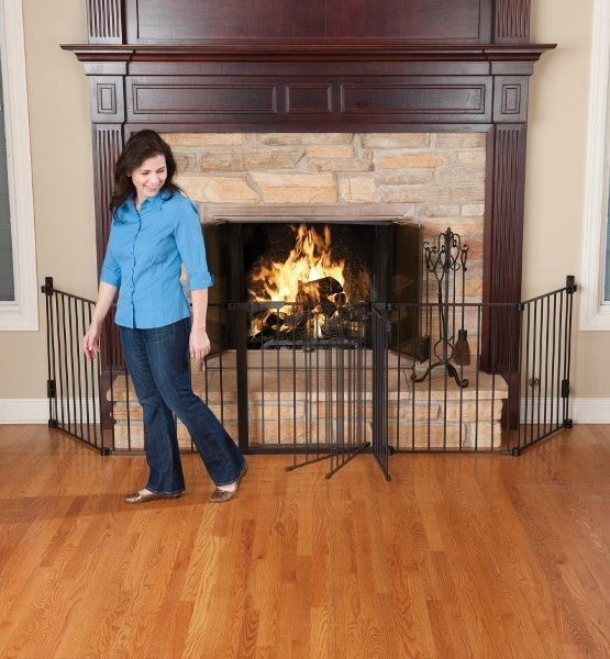 View larger image of Auto Close Hearth Gate - Black