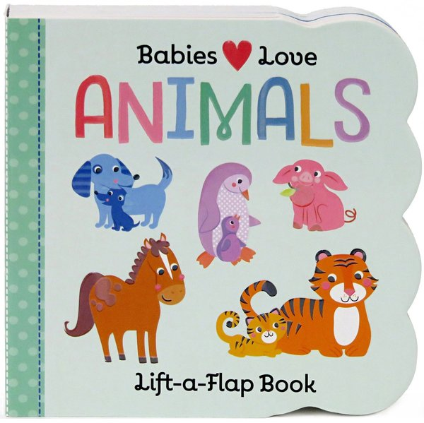 View larger image of Babies Love Animals Book