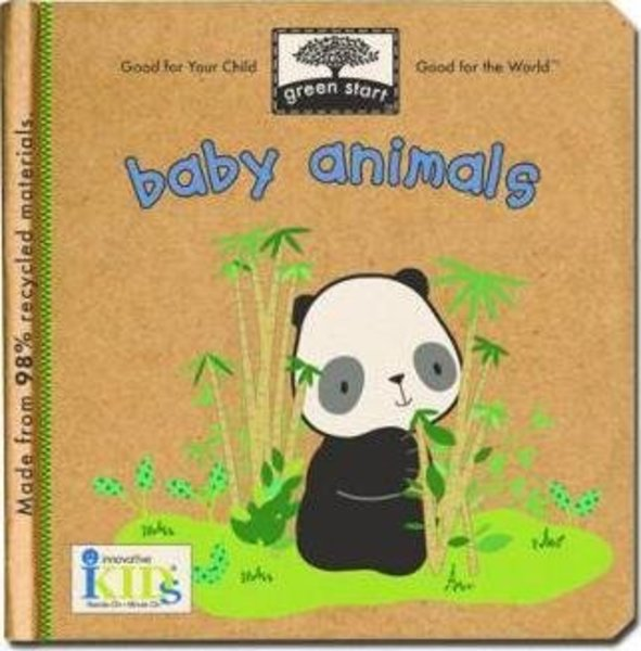 View larger image of Green Start - Baby Animals Board Book