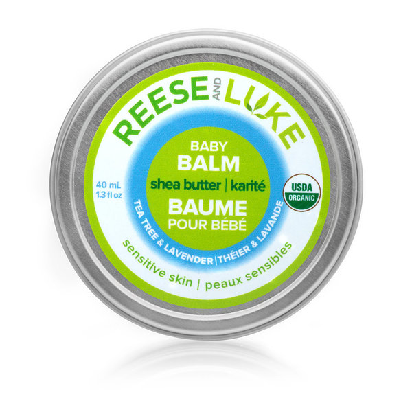 View larger image of Shea Butter Baby Balm - Tea Tree & Lavender - 40 mL