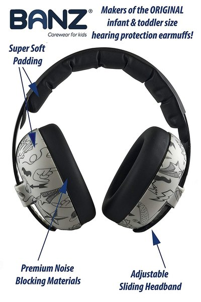 View larger image of Earmuffs Hearing Protection - Graffiti