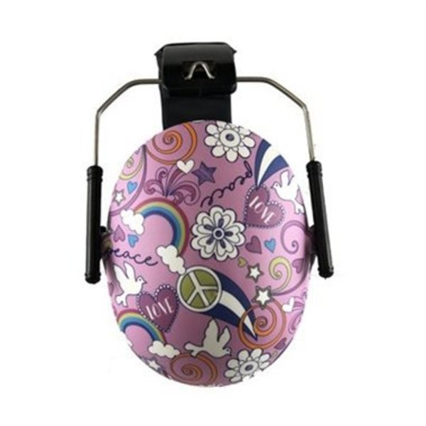 View larger image of Earmuffs Hearing Protection - Peace Doodle