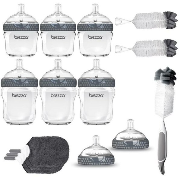 View larger image of 14-Piece Glass Baby Bottle Gift Set