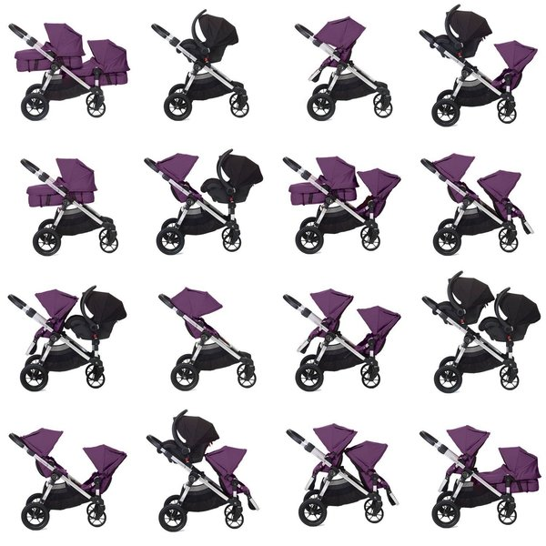 View larger image of City Select Stroller - Amethyst (SF)