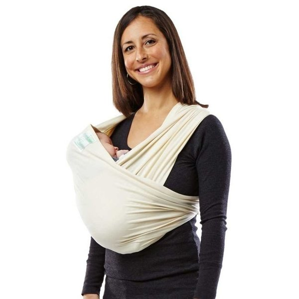View larger image of Organic Cotton Baby Carrier - Natural