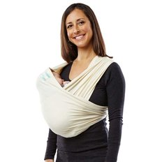 Organic Cotton Baby Carrier - Natural
