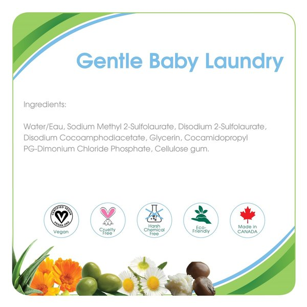 View larger image of Gentle Baby Laundry - Fragrance Free