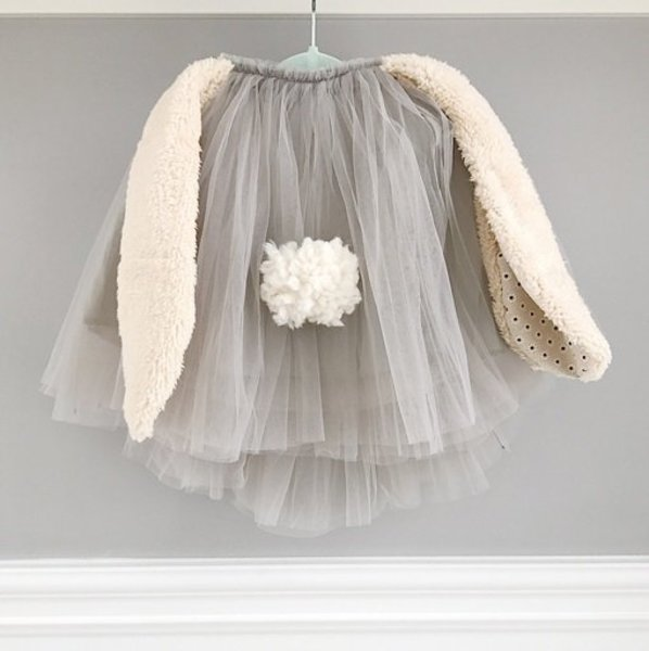View larger image of Baby Penny Tutu Skirt - Bunny Grey -1-3yr