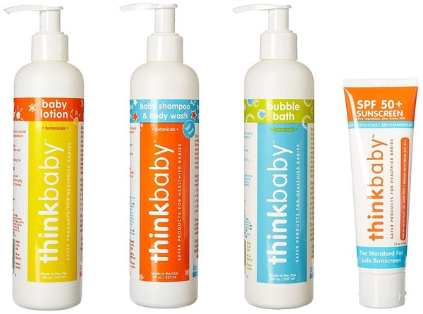 View larger image of Baby Shampoo/Lotion/Bath/Sunscreen Set