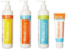 Baby Shampoo/Lotion/Bath/Sunscreen Set