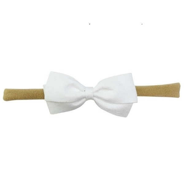 View larger image of Thali Faux Suede Bow Headband