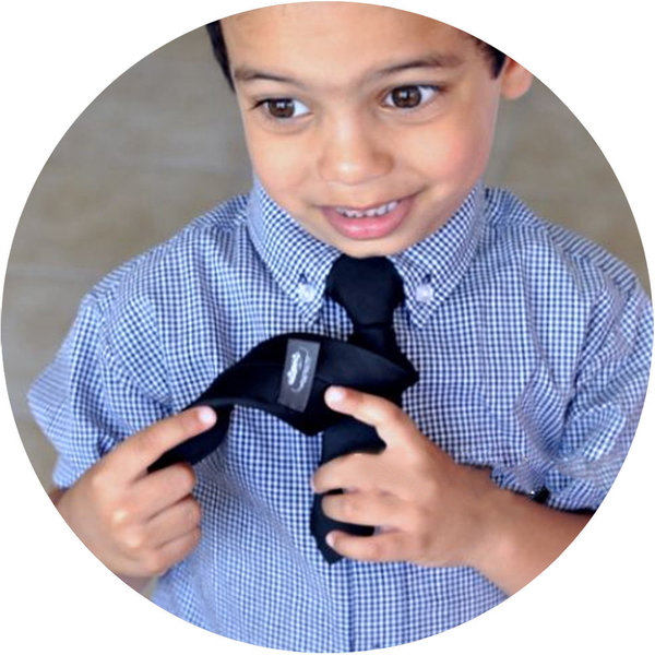 View larger image of Mr.Man Tie 2-4 years Black