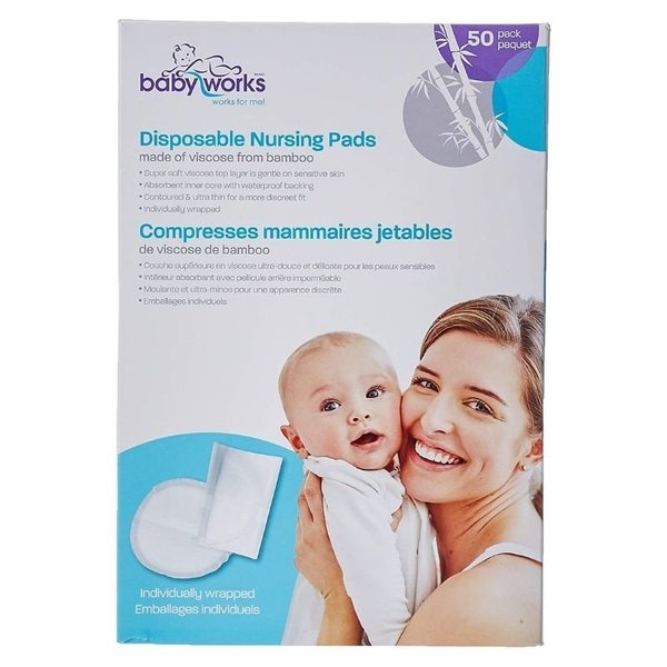 View larger image of Bamboo Nursing Pads - Reusable or Disposable
